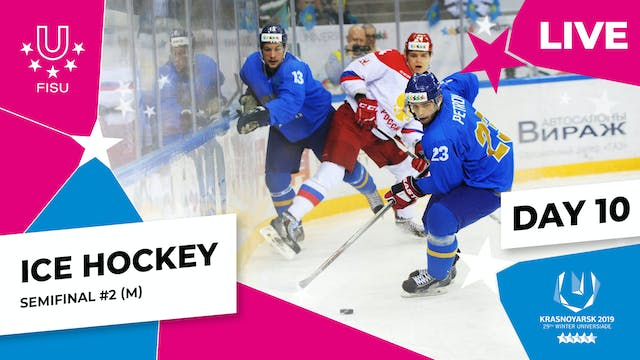 Ice Hockey | Men's Semifinal #2 | Win...