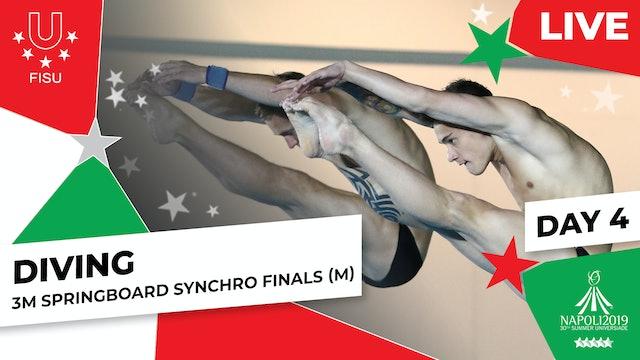 Diving | 3m Springboard Synchro Finals (M) |Summer Universiade 2019