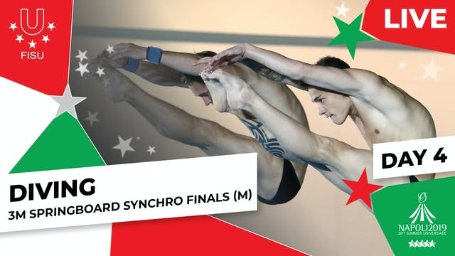Diving | 3m Springboard Synchro Final...