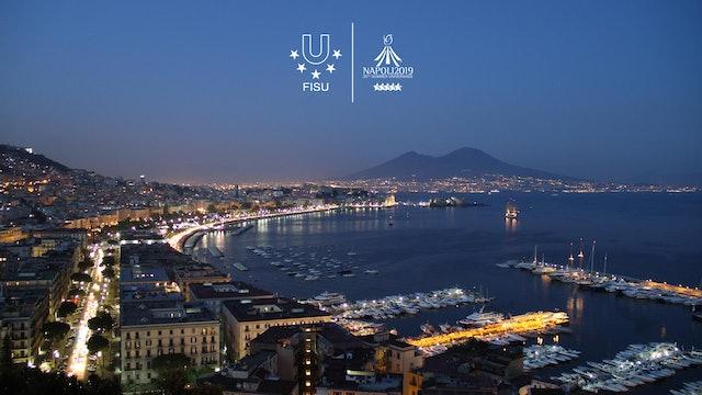 The locations of #Napoli2019   Summer Universiade 2019