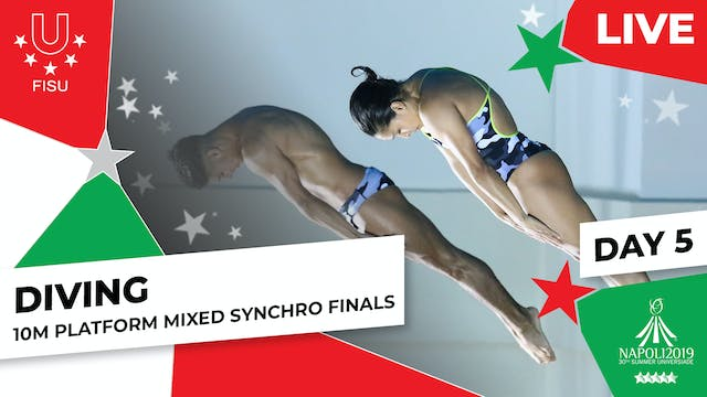 Diving | 10m Platform Mixed Synchro F...