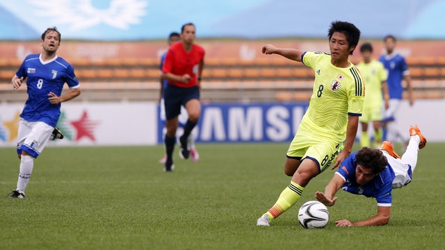 JPN vs. Brazil (Men's Football Third Place) | Gwangju 2015 | #UniSportsClassics