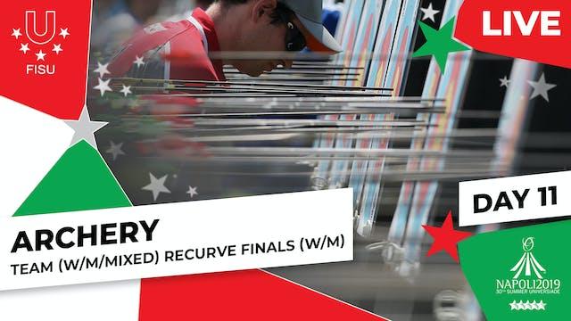 Archery   Team (W/M) & Mixed Team Rec...