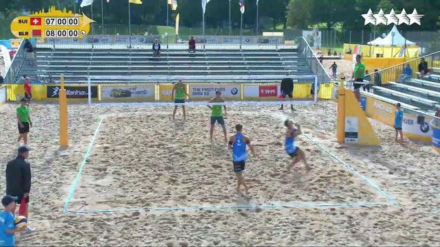 Beach Volleyball - 1/8 Finals - Day 3 - Morning Session - 2018 FISU World University Championship - Munich