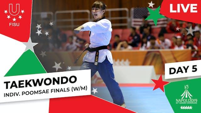 Taekwondo |Individual Poomsae Finals...