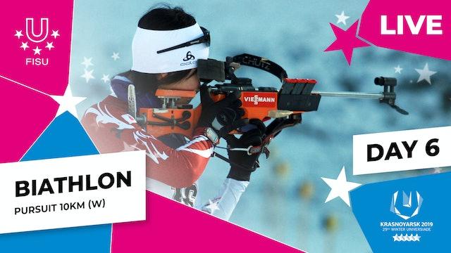 Biathlon | Women's Pursuit 10km |Winter Universiade 2019