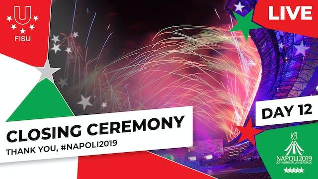 Closing Ceremony | Summer Universiade...