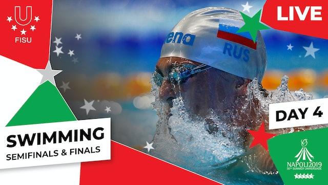 Swimming | Day 4 Semifinals & Finals |Summer Universiade 2019
