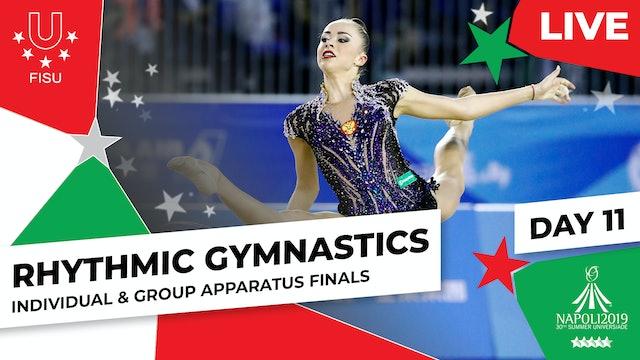 Rhythmic Gymnastics   Apparatus Finals  Summer Universiade 2019