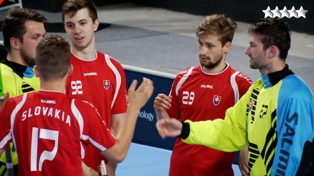 Floorball - SVK vs SGP - FISU 2018 Wo...