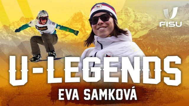 FISU Legends Interview | Czech Snowboarder Eva Samková