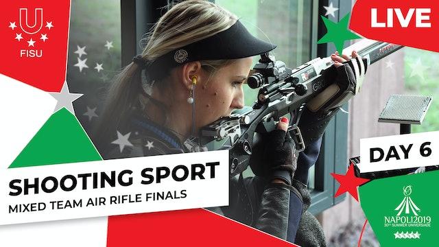 Shooting Sport |Mixed Team Air Rifle Finals |Summer Universiade 2019