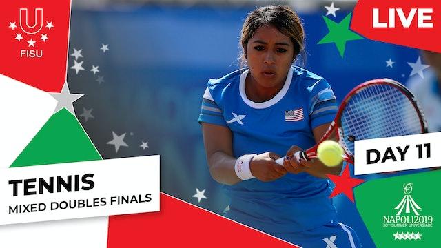 Tennis  Mixed Doubles Finals  Summer Universiade 2019