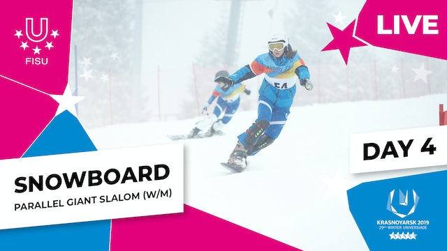 Snowboard | Parallel Giant Slalom | Winter Universiade 2019