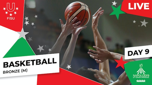 Basketball | Bronze (M) | Summer Universiade 2019