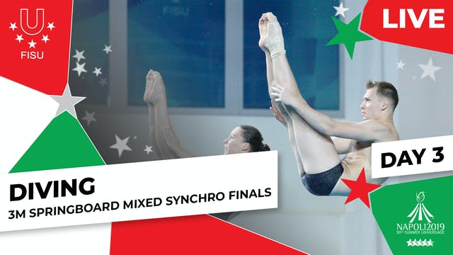 Diving | 3m Springboard Mixed Synchro...