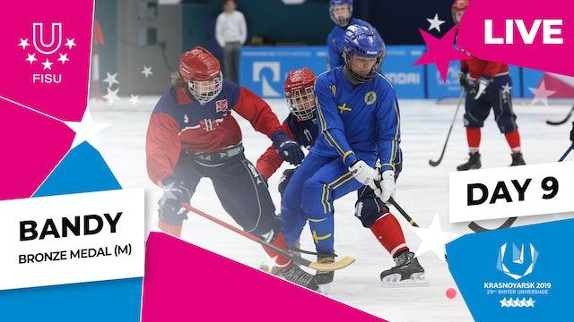 Bandy | Men's Bronze Medal | Winter Universiade 2019