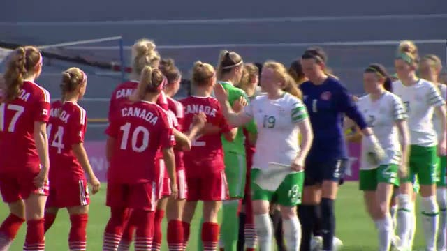 Football W: CAN vs IRL (W7)