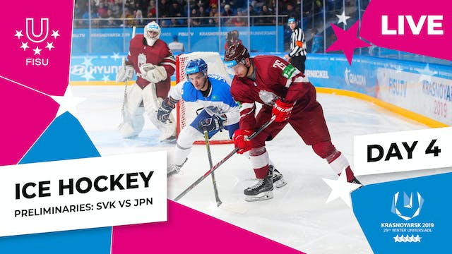 Ice Hockey | Men's Preliminaries – SV...