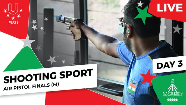 Shooting Sport  Air Pistol Finals (M...