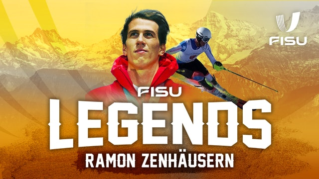 FISU Legends Interview | Swiss Alpine Skier Ramon Zenhausern