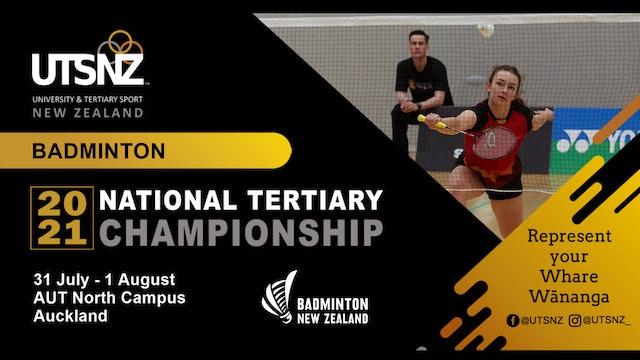 New Zealand | Tertiary Badminton Championship | Semi-Final & Grand-Final