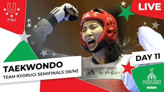 Taekwondo   Team Kyorugi Semifinals (...