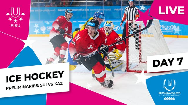 Ice Hockey | Men's Preliminaries – SU...