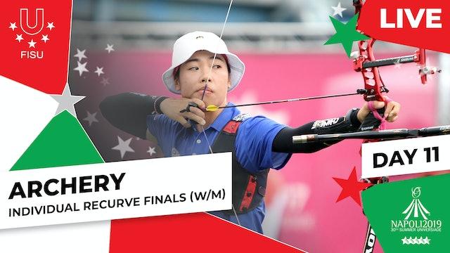 Archery   Individual Recurve Finals (W/M)  Summer Universiade 2019