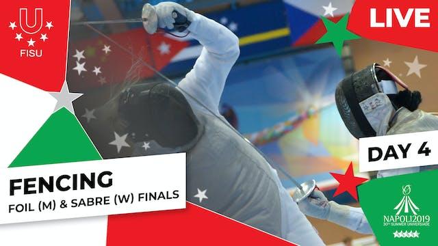 Fencing | Foil (M) & Sabre (W) Finals...
