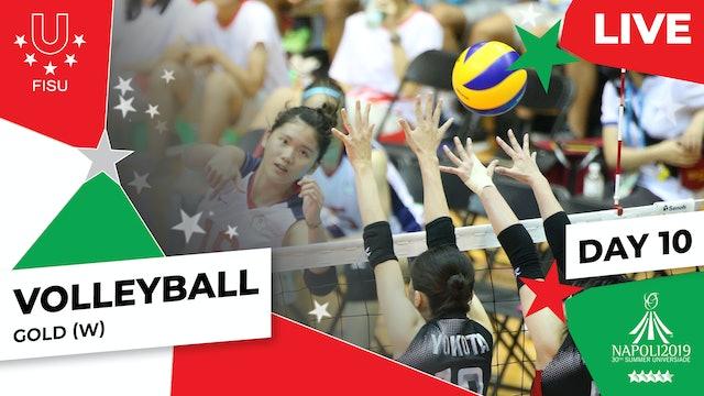 Volleyball | Gold (W) |Summer Universiade 2019