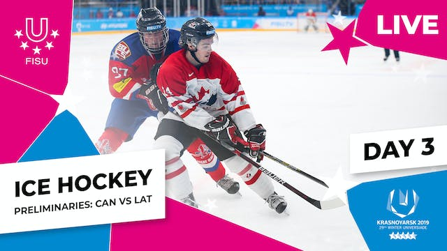Ice Hockey | Men's Preliminaries – CA...