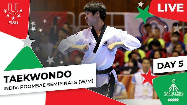 Taekwondo |Individual Poomsae Semifi...
