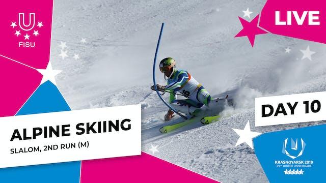 Alpine Skiing | Men's Slalom (2) | Wi...