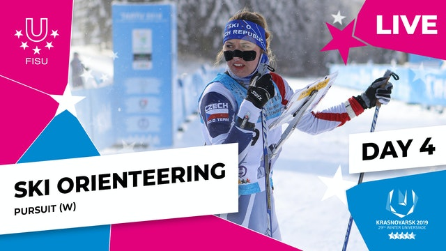 Ski Orienteering | Women's Pursuit | Winter Universiade 2019