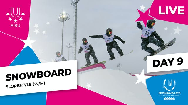 Snowboard | Slopestyle | Winter Unive...