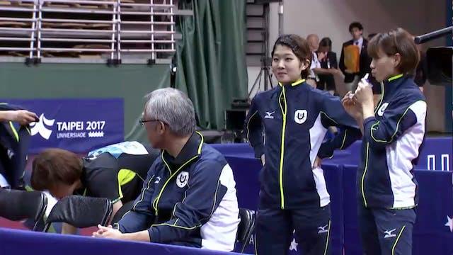 Table Tennis: Women's Team Final JPN ...