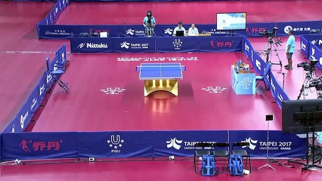 Table Tennis: Women's Single Final, Men's Single Final