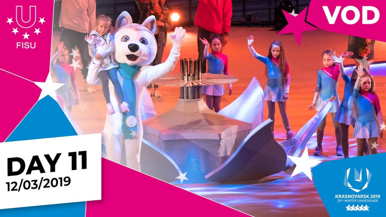 Day 11 | Krasnoyarsk 2019 Winter Universiade | #RealWinter