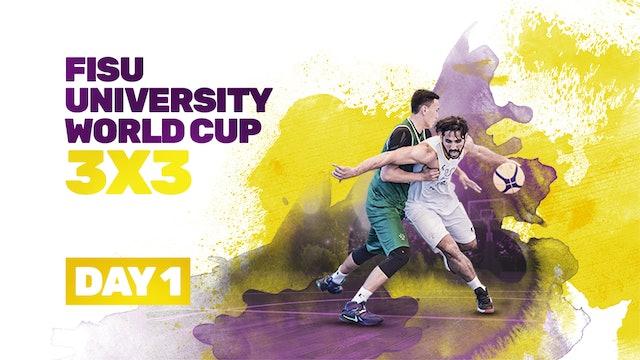 2019 FISU University World Cup - 3x3 | Day 1