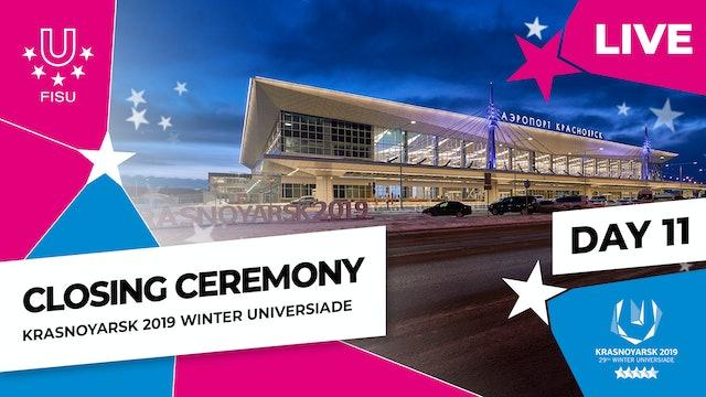 Closing Ceremony | Winter Universiade 2019