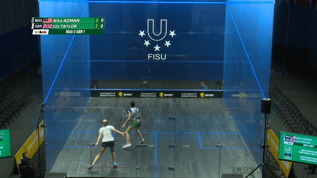 SQUASH - Team Finals - 2018 FISU World University Champs