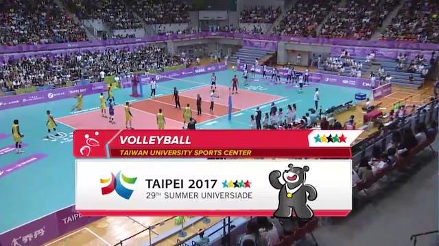 Volleyball: TPE vs BRA (M21)