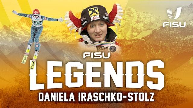 FISU Legends Interview | Austrian Ski Jumper Daniela Iraschko-Stolz