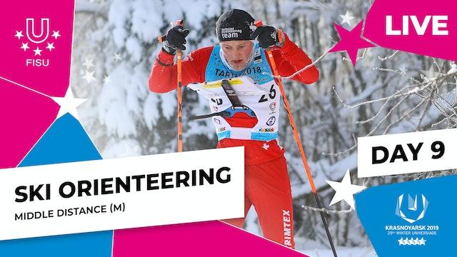 Ski Orienteering | Men's Middle Distance | Winter Universiade 2019
