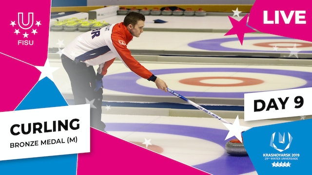 Curling | Men's Bronze Medal | Winter Universiade 2019