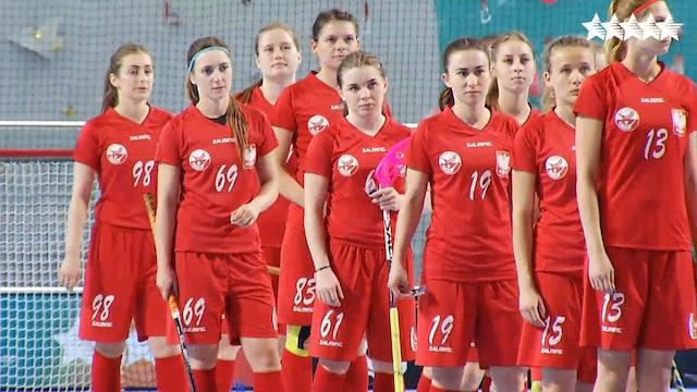Floorball - Women Q1 - Poland vs Singapore - FISU 2018 World University Championship - Day 4