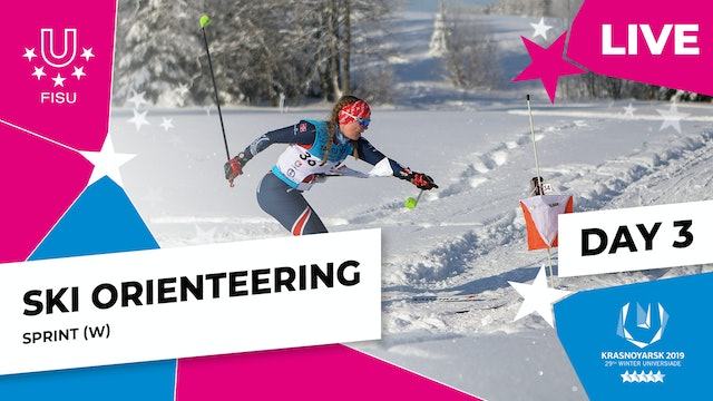 Ski Orienteering | Women's Sprint | Winter Universiade 2019