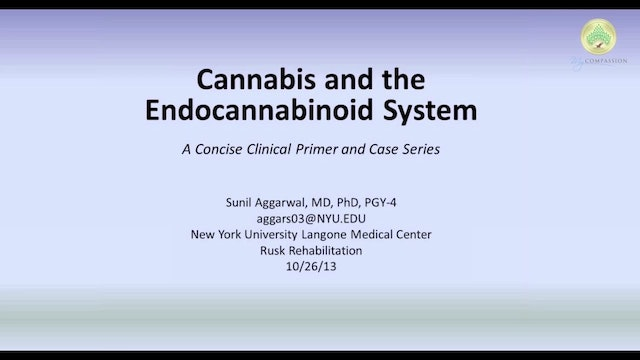Cannabis and the Endocannabinoid System - Part 1