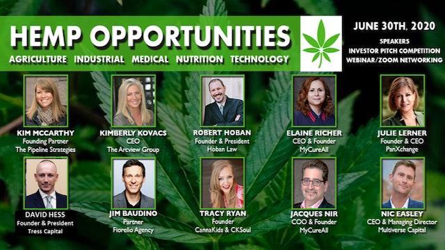 Cannabis Investing forum - Hemp Opportunities